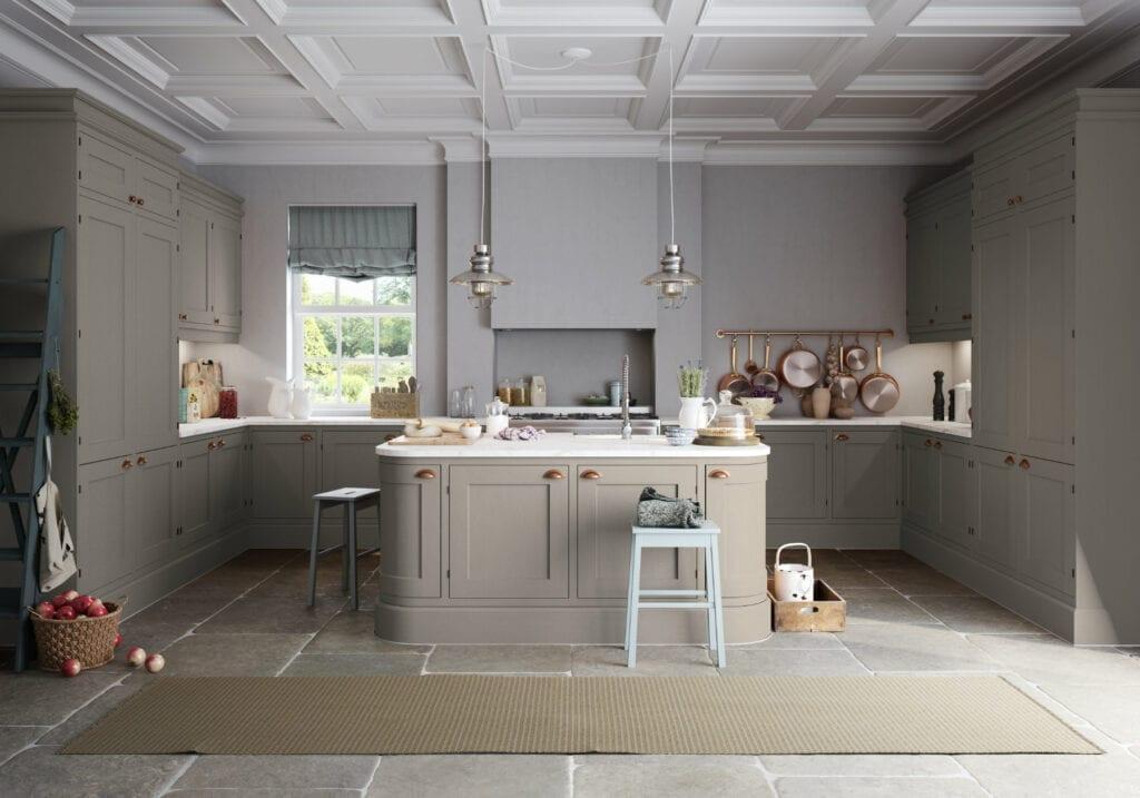 Manor Interiors Grey Shaker U Shaped Kitchen | MHK Kitchen Experts