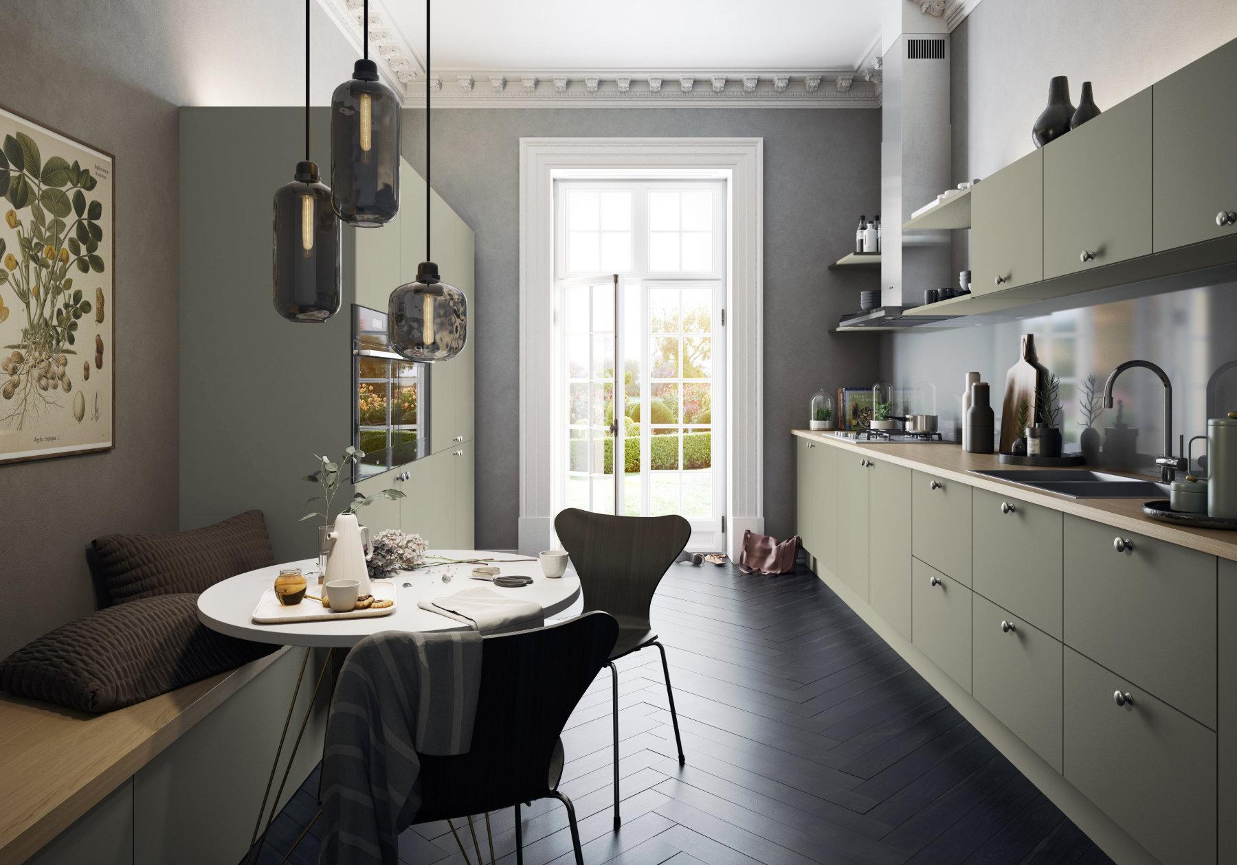 Manor Interiors Matt Kitchen | MHK Kitchen Experts