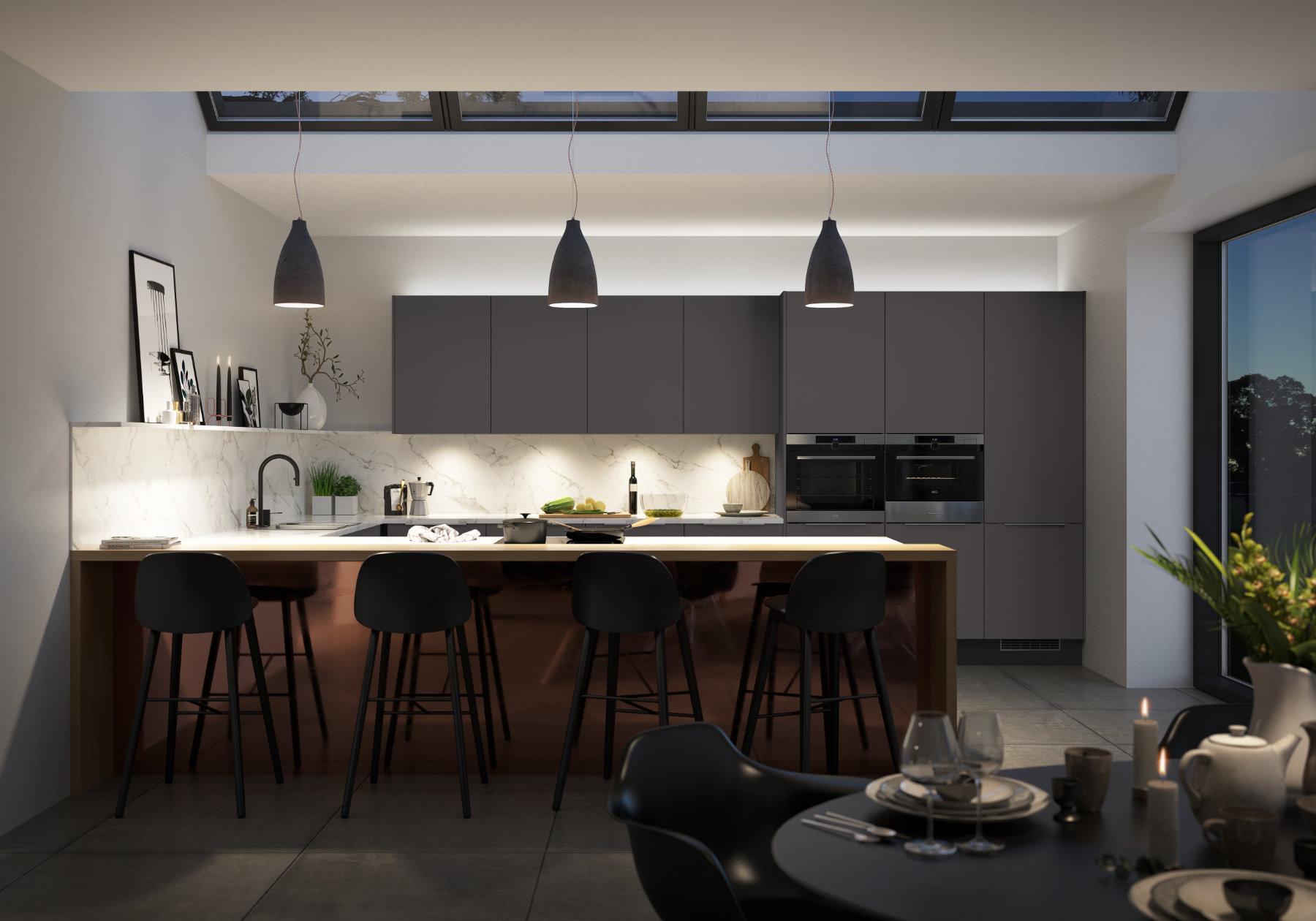 Manor Interiors Modern Matt Kitchen | MHK Kitchen Experts